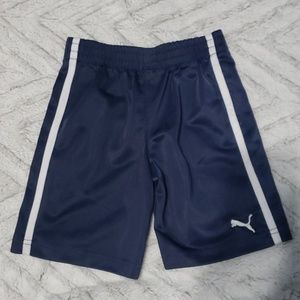 Boys blue puma shorts size 2T